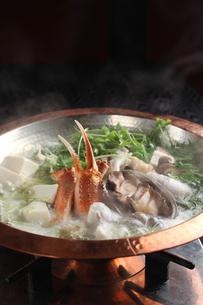 魚介鍋の写真素材 [FYI01666426]