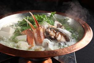 魚介鍋の写真素材 [FYI01666442]