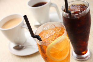 コーヒーと紅茶の写真素材 [FYI01666517]