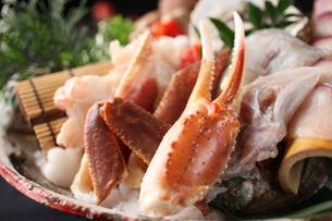 海鮮鍋具材(カニ)の写真素材 [FYI01666588]