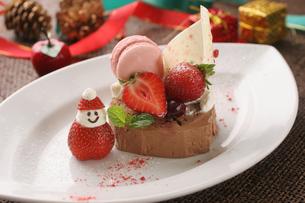 クリスマスケーキの写真素材 [FYI01666621]