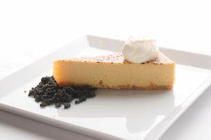 ベイクドチーズケーキの写真素材 [FYI01666636]