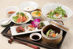 中華定食の写真素材 [FYI01666695]
