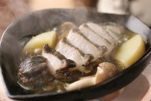 あわびの肝バター焼きの写真素材 [FYI01666751]