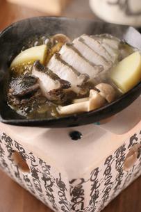 あわびの肝バター焼きの写真素材 [FYI01666756]