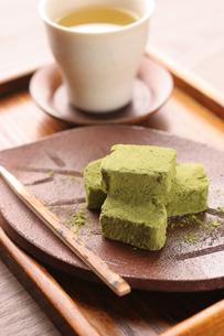 抹茶チョコレートの写真素材 [FYI01666906]