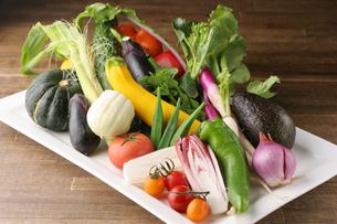 野菜盛り合わせの写真素材 [FYI01666943]