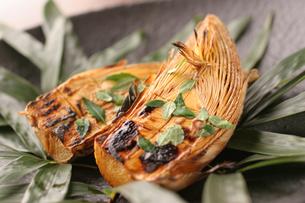 竹の子の木の芽みそ焼きの写真素材 [FYI01667052]