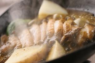 あわびの肝ステーキの写真素材 [FYI01667053]