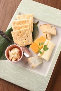 チーズ盛り合わせの写真素材 [FYI01667056]