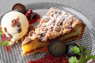 ブルーベリーケーキの写真素材 [FYI01667173]