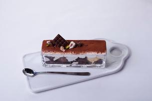 チョコレートパフェの写真素材 [FYI01667189]