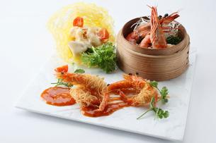 海老料理集合の写真素材 [FYI01667195]