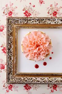 バースデーケーキの写真素材 [FYI01667203]