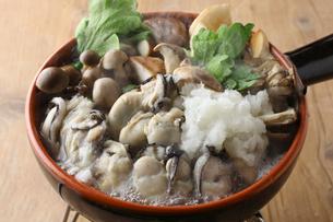 牡蠣鍋の写真素材 [FYI01667292]