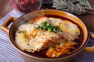 チーズ麻婆豆腐の写真素材 [FYI01667480]