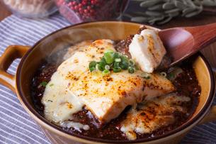 チーズ麻婆豆腐の写真素材 [FYI01667483]