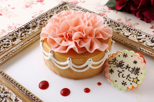 お祝いのケーキの写真素材 [FYI01667545]