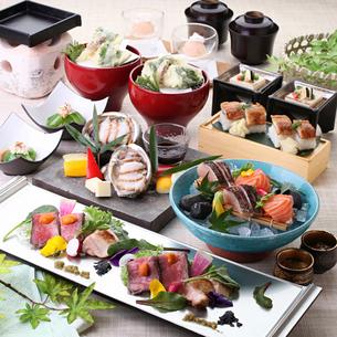 7,8月の和食コースの写真素材 [FYI01667560]