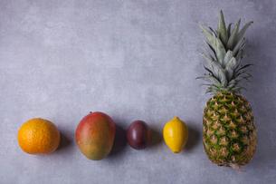 南国フルーツの集合の写真素材 [FYI01667605]