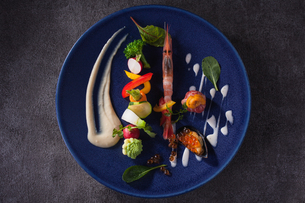 イタリアンリッチコースの前菜イメージの写真素材 [FYI01667950]