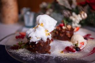 チョコレートケーキの写真素材 [FYI01668029]