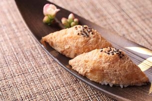 いなり寿司の写真素材 [FYI01668126]
