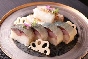 鯖寿司の写真素材 [FYI01668130]