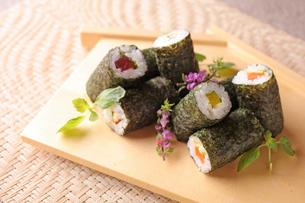 巻き寿司の写真素材 [FYI01668423]