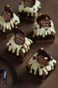 チョコレートケーキの写真素材 [FYI01668593]