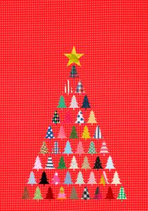 クリスマスツリーのイラスト素材 [FYI01668640]