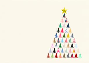 クリスマスツリーのイラスト素材 [FYI01668641]