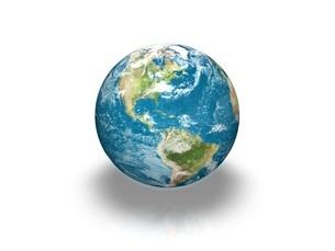 地球のイラスト素材 [FYI01668652]