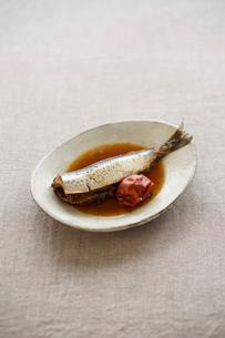 イワシの梅煮の写真素材 [FYI01668816]