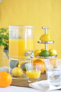オレンジジュースの写真素材 [FYI01668837]