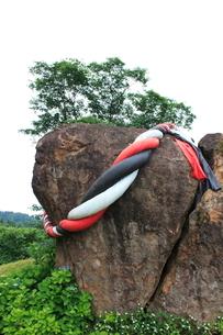 みまもり岩の写真素材 [FYI01668909]