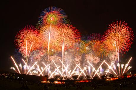 土浦花火づくしの写真素材 [FYI01669185]