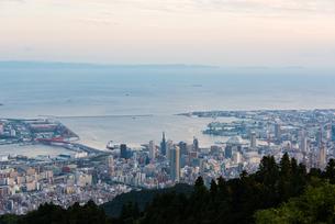 摩耶山より神戸方面を望むの写真素材 [FYI01669420]
