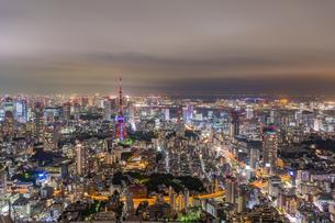 ライトダウン東京タワーの写真素材 [FYI01669690]