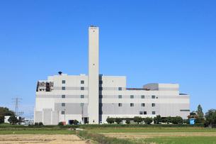 亀田清掃センター 亀田焼却場の写真素材 [FYI01669714]