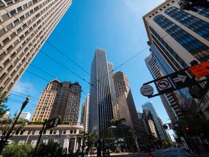 サンフランシスコの中心街の写真素材 [FYI01669898]