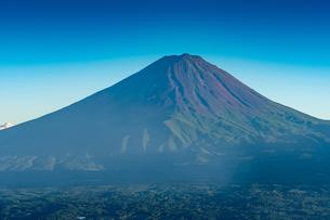 夏の富士山の写真素材 [FYI01669971]