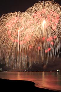 ぎおん柏崎まつり 海の大花火大会 三尺玉の写真素材 [FYI01670026]