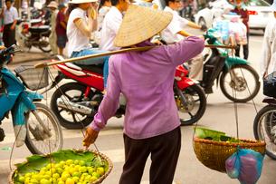 ハノイの市場の写真素材 [FYI01670162]