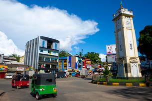 ラトゥナプラの町並みの写真素材 [FYI01670245]