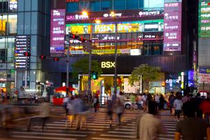 ソウルの夜景の写真素材 [FYI01670389]