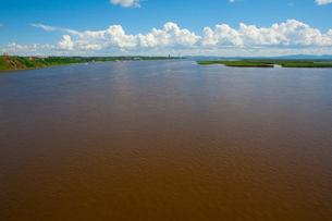 アムール川の風景の写真素材 [FYI01670393]