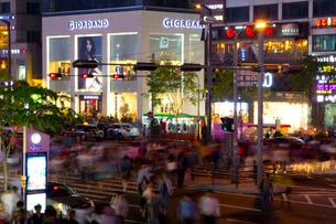ソウルの夜景の写真素材 [FYI01670402]