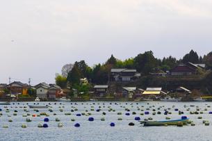 能登・穴水地域の漁村の写真素材 [FYI01670548]