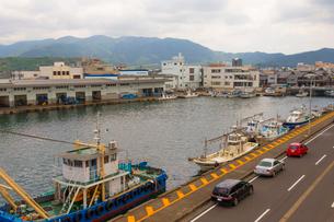 敦賀漁港の写真素材 [FYI01670766]